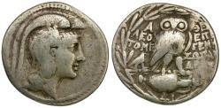 Ancient Coins - Attica. Athens. Leon-, Tome-, Epigen-, Sosandros as magistrates. New Style AR Tetradrachm