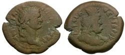 Ancient Coins - Domitian. Egypt. Alexandria Æ Diobol / Serapis