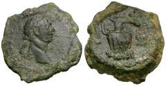 Ancient Coins - Trajan (AD 98-117). Egypt. Alexandria Æ Dichalkon / Amphora