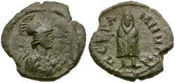 Ancient Coins - Mysia. Pergamon. Pseudo-Autonomous Æ15 / Telesphoros