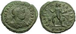 Ancient Coins - aVF/VF Constantine II as Caesar Æ3 / Claritas