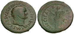 Ancient Coins - Vespasian (AD 69-79) Æ Dupondius / Felicitas