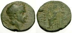 Ancient Coins - VF/VF Kings of Cilicia, Tarkondimotos Æ21 / Zeus