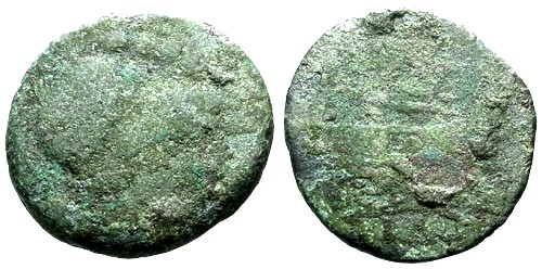 Ancient Coins - Fair Roman Republic AE Triens / Minerva / Prow