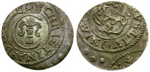 World Coins - Livonia under Swedish Rule. Christina AR Solidus
