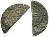 World Coins - Great Britain. Plantagenet Dynasty. Henry II (1158-1180) AR Penny. Short Cross type, class 1aí4/1aí3 / Cut for Change