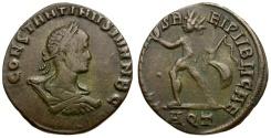 Ancient Coins - Constantine II as Caesar Æ3 / Sol