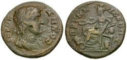 Ancient Coins - Phrygia. Prymnessus. Pseudo-autonomous Æ21 / Kybele