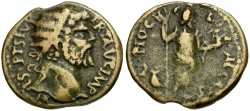 Ancient Coins - Septimius Severus. Pisidia. Antioch Æ22 / Men