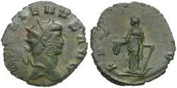 Ancient Coins - Gallienus, sole reign (AD 260-268) Silvered Antoninianus / Laetitia