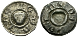 World Coins - Hungary. Bela IV AR Bracteat