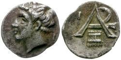 Ancient Coins - Arkadia. Arcadian League. Megalopolis AR Obol