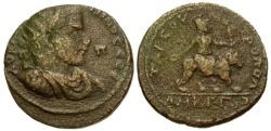 Ancient Coins - gF+/gF+ Gallienus Cilicia Tarsos Æ32 / Athena riding Lion