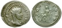 Ancient Coins - Gordian III AR Antoninianus / Fortuna