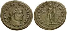 Maximianus Æ Follis / Genius
