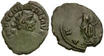 Ancient Coins - Carausius Æ Antoninianus / Pax