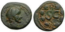 Ancient Coins - Antoninus Pius. Seleucis and Pieria. Antiochia ad Orontem Æ24
