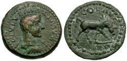 Ancient Coins - Maximus Caesar. Alexandria. Troas Æ24 / Horse