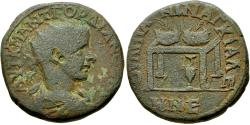 Ancient Coins - Thrace. Anchialus. Gordian III (AD 238-244). Æ Pentassarion