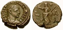 Ancient Coins - EF/VF Maximianus Egypt Alexandria Billon Tetradrachm / Eirene