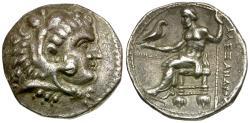 Ancient Coins - Kings of MACEDON. Alexander III the Great (336-323 BC) AR Tetradrachm