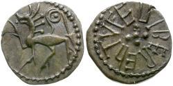World Coins - England. Anglo-Saxon Kings of Northumbria. Eadberht (737-758) AR Sceat / Animal