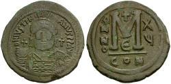 Ancient Coins - *Sear 163* Byzantine Empire. Justinian I Æ41 Follis