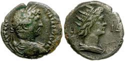 Ancient Coins - Hadrian. Egypt. Alexandria BI Tetradrachm / Bust of Helios