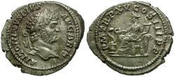 Ancient Coins - Caracalla AR Denarius / Salus