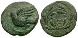 Ancient Coins - Sikyonia. Sikyon Æ Chalkous / Dove