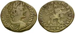 Ancient Coins - Caracalla. Moesia Inferior. Markianopolis Æ27 / Cybele
