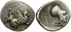 Ancient Coins - Epeiros. Ambrakia AR Stater / Pegasus