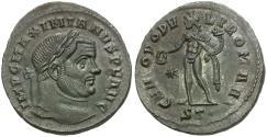 Ancient Coins - Maximianus II, first reign (AD 286-305) Æ Follis