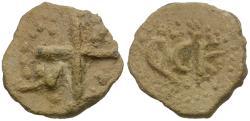 Ancient Coins - Byzantine Empire Lead Tessera