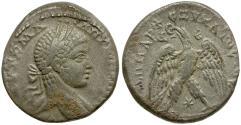 Ancient Coins - Elagabalus. Seleucis and Pieria. Antioch AR Tetradrachm