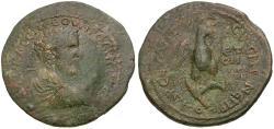 Ancient Coins - Septimius Severus (AD 193-211). Pontus. Amasia Æ32 / Eagle
