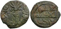 World Coins - Islamic. Umayyad Caliphate Æ Fals / Tree with fruit