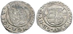World Coins - Hungary. Matthias II (1612-1619) AR Denar