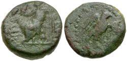 Ancient Coins - Commagene. Samosata. Pseudo-Autonomous Issue Æ14 / Eagle