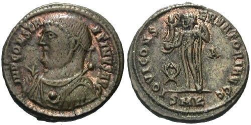 Ancient Coins - aVF/aVF Constantine the Great AE / Jupiter