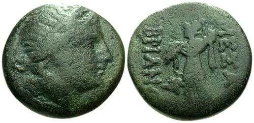 Ancient Coins - F/F Thrace Mesembria AE20 / Athena