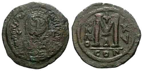 Ancient Coins - aVF/aVF Huge Justinian I Follis