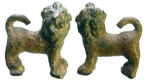Ancient Coins - Bronze Roman Lion