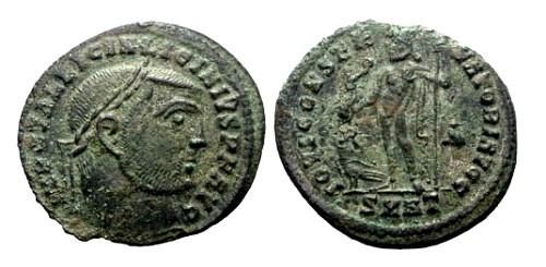 Ancient Coins - VF/aVF Licinius I AE Follis / Jupiter
