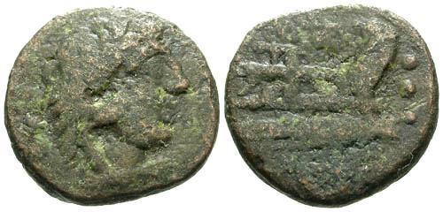 Ancient Coins - F/F Roman Republic AE Quadrans / M Vargunteius