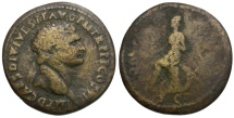 Ancient Coins - Domitian. Thrace Æ Colonial Dupondius