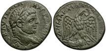 Ancient Coins - Caracalla. Syro-Phoenician. Coele. Heliopolis AR Tetradrachm / Eagle