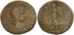 Ancient Coins - Otacilia Severa. Cilicia. Tarsos Æ31 / Nike