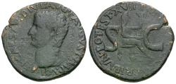 Ancient Coins - Tiberius (27 BC-AD 14) Æ AS