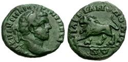 Ancient Coins - Caracalla. Moesia Inferior. Marcianopolis Æ17 / Lion